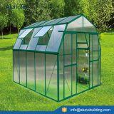 A estufa de vidro pré-fabricou estufas usadas jardim do projeto da estufa das estufas do jardim para a venda