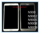 Samsungギャラクシーノート3 Note3 N900V N9005のための移動式スマートな携帯電話のタッチ画面LCD