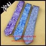 Gravata perfeita tecida forma da seda da fábrica de China do nó do jacquard dos homens