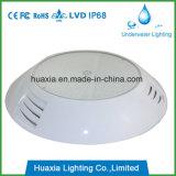 IP68 impermeabilizan la luz subacuática llenada resina de la piscina del LED
