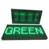 P10 esterni scelgono il testo verde che fa pubblicità allo schermo di /Display del modulo