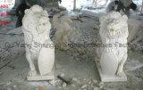 Marmeren Beeldhouw Marmeren Dierlijk Marmeren Standbeeld