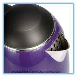 De Purpere Elektrische Ketel van uitstekende kwaliteit van het Roestvrij staal van de Kleur met het Teken van de Schaal