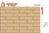 150X600mmマットの床タイルの木によって艶をかけられる無作法な建築材料(15604)