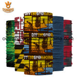 Bandana unisex listrado Washable popular do partido da venda direta da fábrica