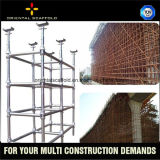 China Strong Steel Cuplock Scaffolding for support Structure