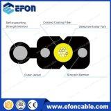 1 2 4 câble d'interface extérieur d'intérieur de fibre optique du faisceau G657A1 FTTH