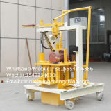Qt40-3cの手動移動式具体的なセメントの煉瓦作成機械