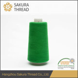 Sakura 120d / 2 100% Thread retardante de llama de filamentos de poliéster para bordado