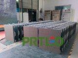 Concurrerend LEIDEN van de Kleur van het Aluminium van Kosten 512*512 mm Volledige Comité voor OpenluchtP4