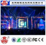 Hohe Definition-Bildschirm P4 farbenreiche LED-Innenbildschirmanzeige, die Leistungs-Bildschirm bekanntmacht
