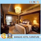 Bequemes Luxuxschlafzimmer der Hotel-Möbel im Holz