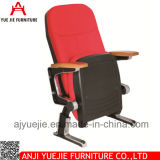 Tablilla plegable barata Yj1206m de la escritura de la silla del auditorio