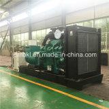 Электрический тепловозный генератор 600kw/750kVA Cummins для электростанций