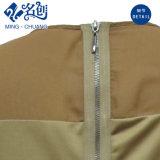 Newstyle Rund-Muffe Kurz-Hülse Hinter-Reißverschluss kleiden dünne reizvolle Form-Damen lang an