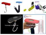 Escala portátil de venda quente de Digitas da bagagem com gancho e cinta