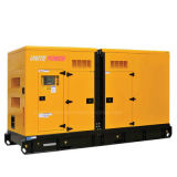 Unire il gruppo elettrogeno diesel insonorizzato di potere 350kVA Cummins (UPC350)