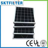 Filtro dalla gomma piuma del carbonio con il blocco per grafici di alluminio