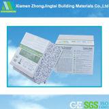 tarjeta ligera impermeable insonora incombustible libre de la pared del asbesto de 75m m