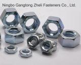 Tuercas Hex pesadas libres plateadas cinc de la muestra GB6170 de Yello
