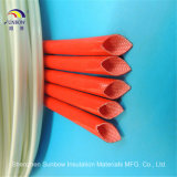 Tube de fibre de verre de silicones d'UL de Sunbow 1.5kv pour l'isolation de transformateur