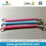 Эластичная веревочка безопасности ключевой цепи спирального шнура цветастая Анти--Потерянная