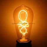 Ahorro de la energía suave de la base E26/27bulb de la lámpara de la iluminación del filamento LED LED