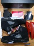 هواء سوداء معدنيّة [رترو] [5ف] [بسكتبلّ شو] حذاء رياضة رجال أحذية