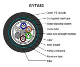 옥외에게 를 사용하는을%s 광학 섬유 케이블 144 코어 GYTA53