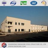 Workshop de manutenção de veículos de estrutura de aço