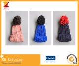 Тип 2016 зим новый ягнится шлемы с цветастым Pompom