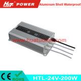 PWM 기능 (HTL Serires)를 가진 24V200W 알루미늄 방수 LED 운전사