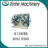 Single-Screw PVC Single-Wall波形の管の生産ラインPEのプラスチック押出機