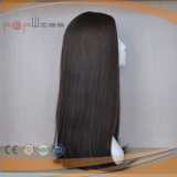 Da parte alta superior de seda de Wefted do engranzamento de Elsatic da tecnologia do cabelo do Virgin peruca 100% superior de seda (PPG-l-0879)