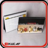Печатание плановика и календара поставк офиса & школы изготовленный на заказ спиральн еженедельное