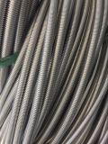 Manguito acanalado flexible del metal del acero inoxidable