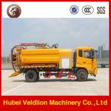 Caminhão jorrando da água de esgoto do vácuo de Dongfeng 6X4