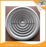 Diffuseur rond d'air d'approvisionnement de plafond en aluminium blanc de couleur