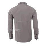 Winter-windundurchlässiges wasserdichtes thermisches warmes Vlies-Hemd