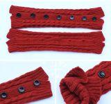 Modieus Geslacht Dame Knit Button Boot Legwarmer Sokken voor Verkoop