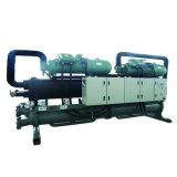 Unidade de resfriamento de parafuso de resfriamento refrigerado a água