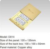 Garantie-Qualitätskupferlegierung-Goldfarben-Fußboden-Kontaktbuchse