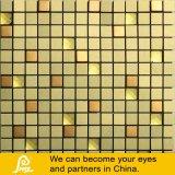 mozaïek van het Glas van de Mengeling van het Metaal van 15X15mm het Gouden en Zilveren voor Muur