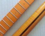 型カラーニトロサテン仕上げのかえでのアワビの調子の遠いギターの首