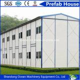 Casa pré-fabricada favorável ao meio ambiente do edifício da construção rápida do painel de construção e de sanduíche de aço com baixo orçamento