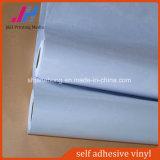 vinilo auto-adhesivo gris/blanco de 80mic en Rolls para la impresión