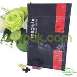 Bolso de empaquetado de la leche del polvo plástico del té con la cremallera Pocket