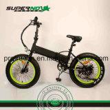 Bicyclette électrique en aluminium d'alliage avec le moteur arrière 8fun