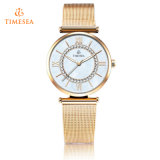 Relógio de pulso luxuoso 71141 das senhoras de quartzo do relógio de forma das mulheres do relógio de quartzo