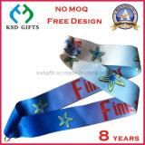 Cmykは作るあなた自身のデザイン報酬メダルリボンを印刷した